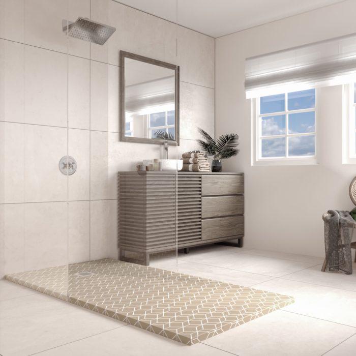 géométrie salle de bain